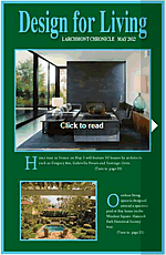Click to Veiw Larchmont Chronicle Design for Living 2012 online