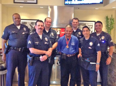 Wilshire Division officers raise funds for Special Olympics